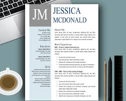 Creative Resume Template Modern Cv Template Word Cover Letter Cool ...