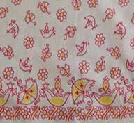 Feedsack Quilts and Clothing a Frugal Fabric & feedsack border print Adamdwight.com