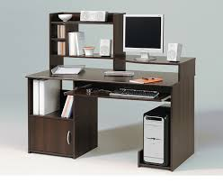 tall computer desk with shelves zfmlvfi