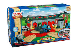 fisher thomas the train wooden railway deluxe roundhouse y4366 eveikals lv
