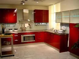 Painting Kitchen Cabinets Red Kitchen Modern Kitchen Cabinet Colors Modern Kitchen Paint