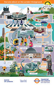 How to get from bath to crystal palace dinosaurs by train, bus or car. London Overground Sightseeing Experience London
