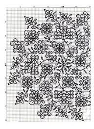 Blackwork Cross Stitch Charts This Will Make A Stunning Blackwork Piece Blackwork