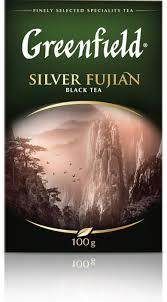 <b>Черный чай</b> листовой <b>Greenfield Silver</b> Fujian, 100 г — купить в ...