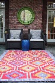 colorful outdoor rugs beautiful bright colored 39791