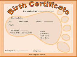 Sample Birth Certificate 40 Free Documents In Word PDF Unique Blank Birth Certificate Images