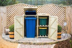 recycling bin storage. Plain Bin Wheelie Bin Plus Recycle Box Storage Cover For Recycling