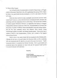 National Junior Honor Society Letter Recommendation Template Divine