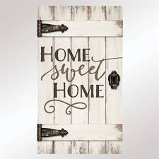 pallet wood wall whitewash. home sweet barn door wall plaque whitewash pallet wood h