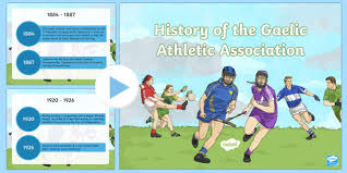 Powerpoint History History Of The Gaa Timeline Powerpoint History Of The Gaa