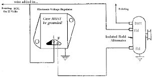 alternator wiring diagrams and information brianesser com 4 wire alternator wiring diagram at Two Wire Alternator Wiring Diagram