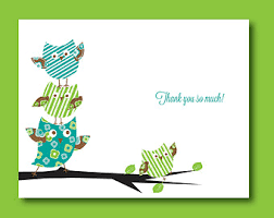 How To Write Baby Shower Card Messages  Baby Shower For ParentsOwl Baby Shower Thank You Cards