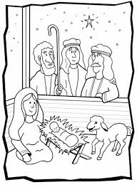 Small Picture Free Printable Baby Jesus Coloring Pages Coloring Part 2