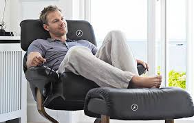 Unique and Comfortable Seating Design for Home Interior Furniture,  Stressless Seating by Ekornes  Black