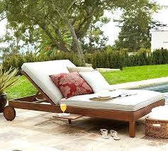 decoration patio furniture double lounger outdoor chaise lounge cushions