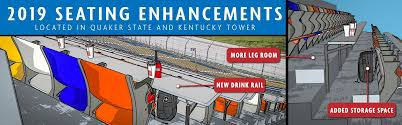 Indy 500 Seating Chart Tower Terrace Kentucky Speedway