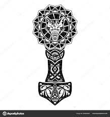 скандинавские Tattoo0006 векторное изображение Balashovmihail38