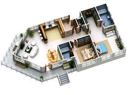 strikingly design 5 modern house plans in 3d plan 3d pics photos