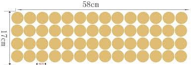diy removable polka dots vinyl decal