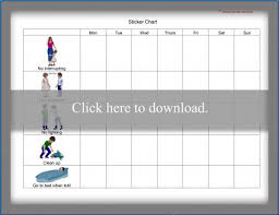 How To Make A Sticker Chart For Good Behavior Preschool Behavior Charts Lovetoknow