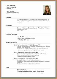 Example of a beginner's CV realized with IOS app giga-cv. how to make a ...