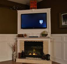 Corner Fireplace Framed Tv Over Fireplace Monday January 17 2011 Tv Above Corner