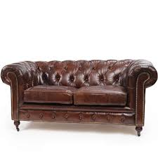 Perfect Vintage Leather Couch Chesterfield Sofa Inside Inspiration