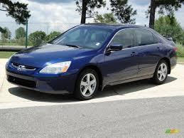 Eternal Blue Pearl 2004 Honda Accord EX Sedan Exterior Photo ...