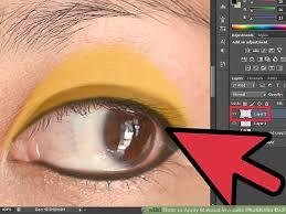image led apply makeup in adobe photo cs3 step 6
