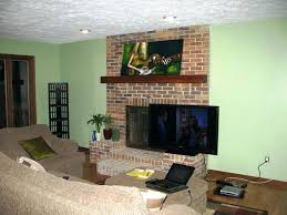 how high to mount tv over fireplace want to mount above fireplace but can i paint how high to mount tv over fireplace