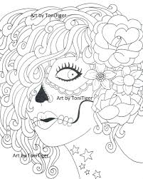 Instant Digital Download Coloring Page Sugar