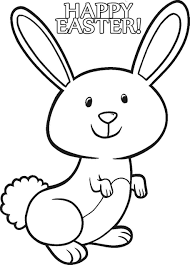 Small Picture Bunny Coloring Pages Inside Free Rabbit glumme