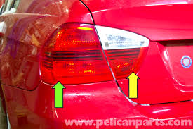 bmw e wiring diagram lights bmw image wiring diagram bmw e90 rear light replacement e91 e92 e93 pelican parts diy on bmw e90 wiring diagram