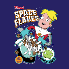<b>Final Space Flakes</b>! With real cookies, and free Mooncake plushie ...