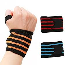 2019 wrist protection for yoga weight lifting elastic fabrics men and women boxing wrist band sweat support sports gym accessories from towork