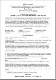 Delivery Driver Resume Examples Transportation Professional Sample