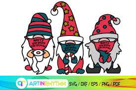 Free transparent gnome vectors and icons in svg format. Merry Quarantine Christmas Gnome Svg Graphic By Artinrhythm Creative Fabrica