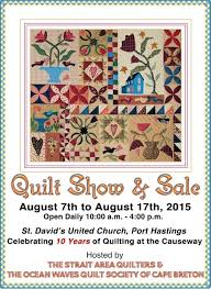 The Cuddle Quilter: Celebrating Quilting at the Causeway Quilt Show & I have a few quilty items for sale this year and just this past week put  the finish on a few more. If you recall, the Maine Quilt Show inspired me  to ... Adamdwight.com