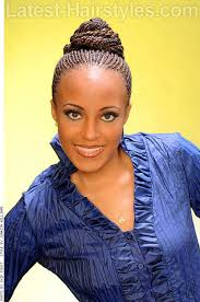 beloved bun updo for black women