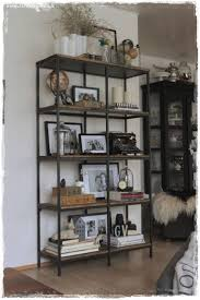 ... Wall Units, Marvellous Living Room Shelf Unit Living Room Shelves And  Cabinets Iron And Wood ...
