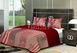 block printed bed covers block print bed cover exporter in our range of block printed bed covers cushions covers bed sheets