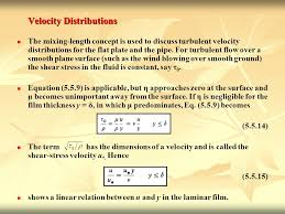 velocity distributions