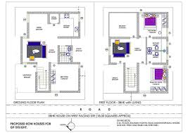 west facing house plans for 60x40 site fresh the best 100 house plans for 30x40 site