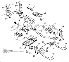 lt1 camaro exhaust diagram wiring diagrams best 4th gen lt1 f body tech aids drawings exploded views lt1 camaro ss lt1 camaro exhaust diagram