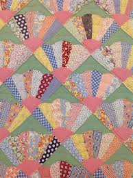286 best Quilts from the thirties images on Pinterest | Beds, Hand ... & dresden fan quilt - great idea for all those fan blocks I already have… Adamdwight.com