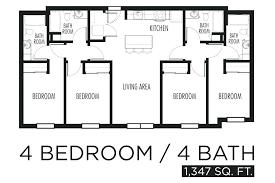 simple house plans 4 bedrooms simple 4 bedroom house plans 4 bedroom floor plans pixel 4