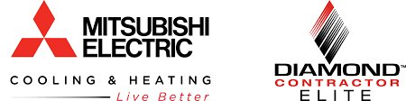 mitsubishi heating and cooling. Perfect And Mitsubishi Diamond Contractor Inside Heating And Cooling B