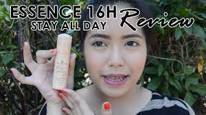 essence 16hr stay all day foundation review saytiocoartillero you
