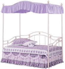 Canopy Twin Lavender Solid Awesome Twin Canopy Bed Frame - Modern ...