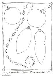 Small Picture Coloring Pages Holiday Coloring Page Ornaments Christmas Color